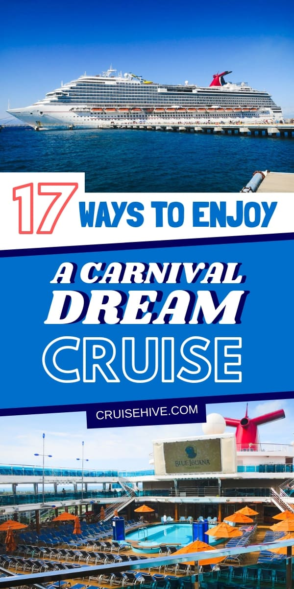 Here are ways you can enjoy the Carnival Dream cruise ship with things to do onboard along with Carnival cruise tips to make sure you have the best vacation at sea.