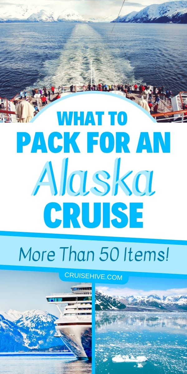 If you have an Alaska cruise vacation coming up then there are more than 50 things you can pack. Here is the ultimate Alaska packing list including clothing.