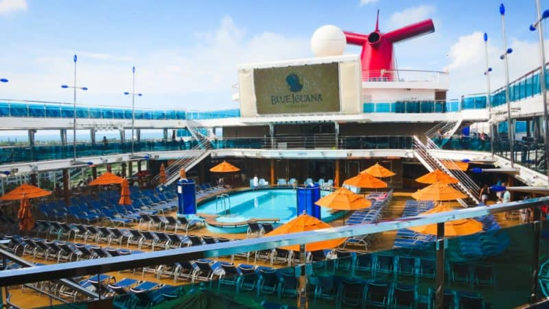 Carnival Dream Lido Deck