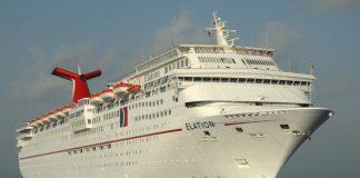 Carnival Elation at Sea