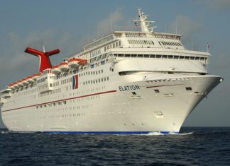 Carnival Elation at Sea