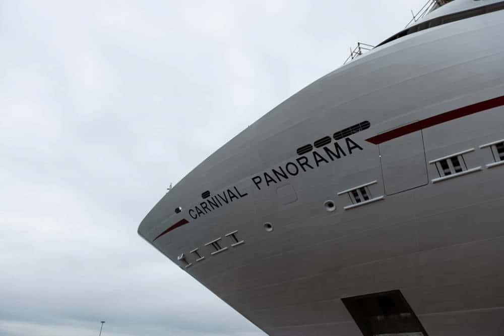Carnival Panorama Bow