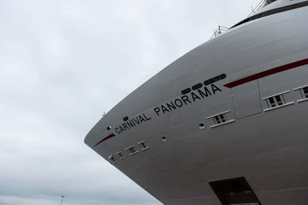 Carnival Panorama Bow