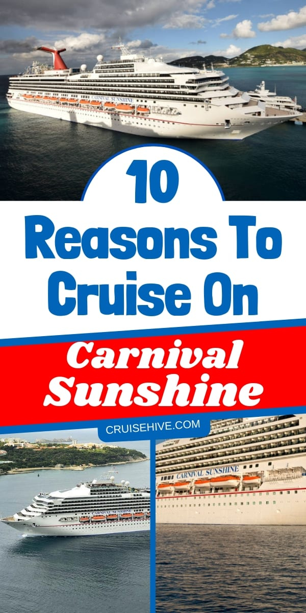 Carnival cruise tips for the Carnival Sunshine cruise ship. Things to do onboard for a cruise vacation.