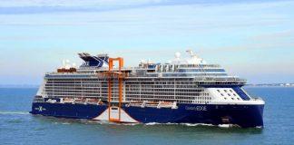 Celebrity Edge Sailing at Sea