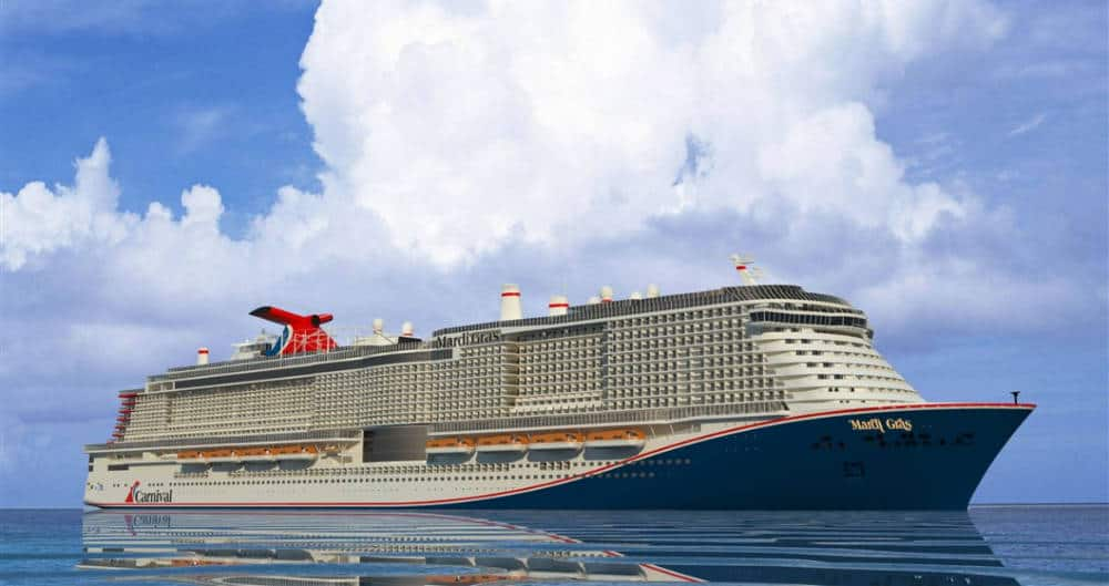 Carnival Mardi Gras Voted Most Anticipated Future Cruise Ship