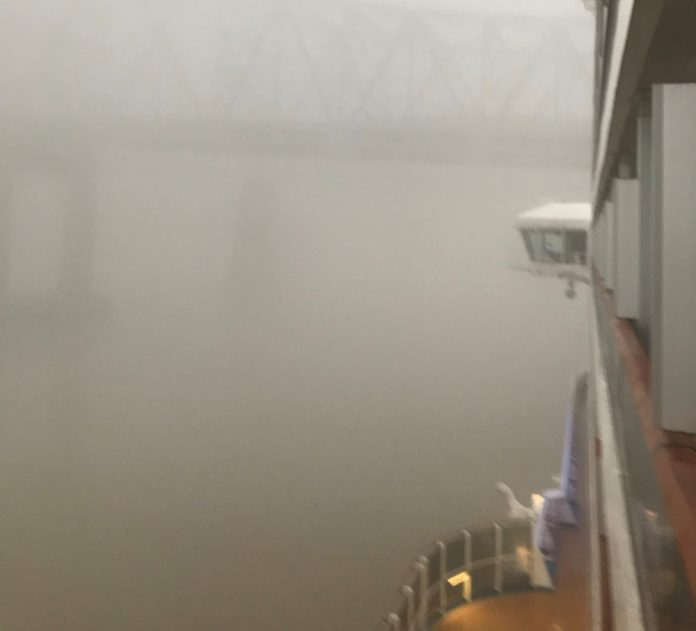New Orleans Heavy Fog