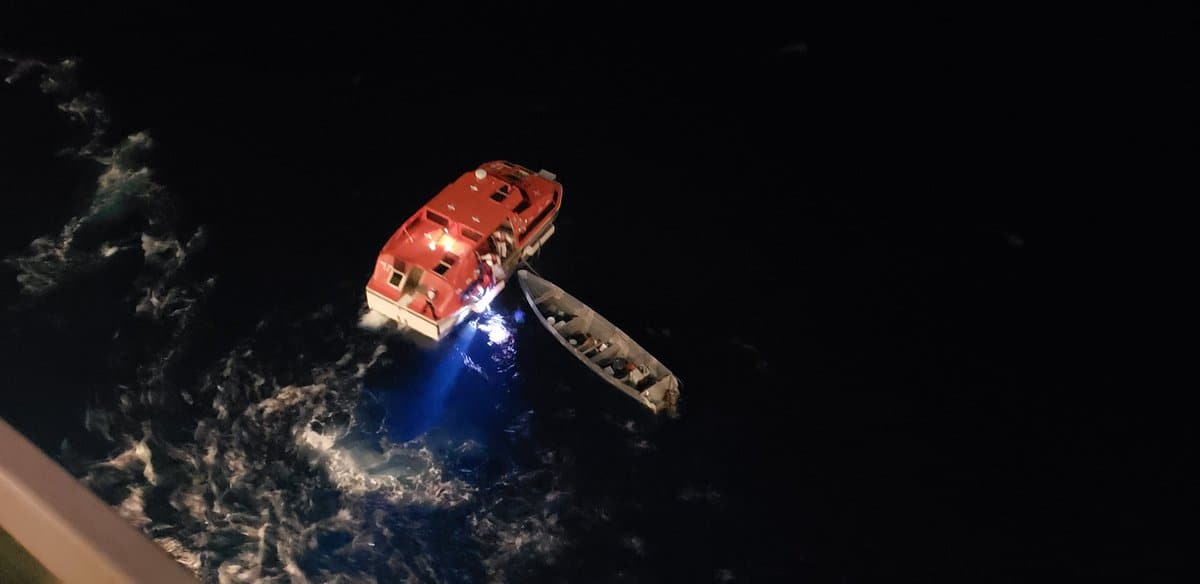 Royal Caribbean Ship Rescues Two Sailors