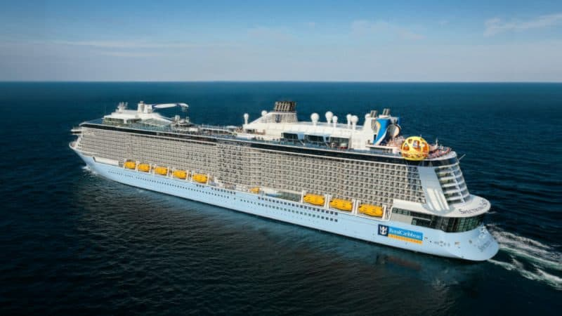 Spectrum of the Seas Arial