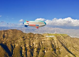 Carnival Airship in Southern California