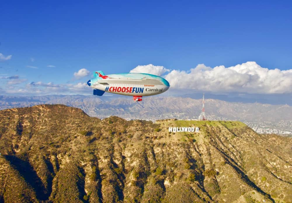 Carnival Airship in Southern California