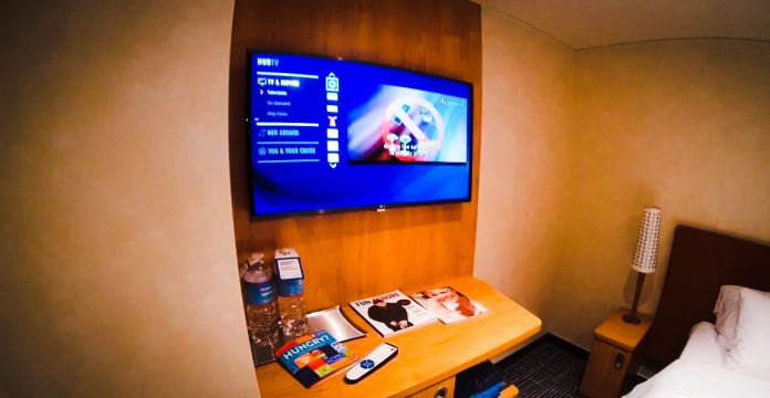 Carnival Cruise Ship Staterom TV