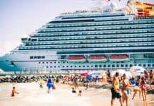 Carnival Cruise Ship Departing Port