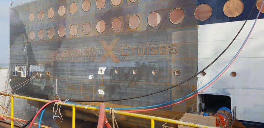 Celebrity Millennium Dry Dock