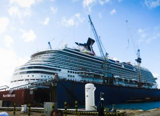 Carnival Cruise Ship Dry Dock