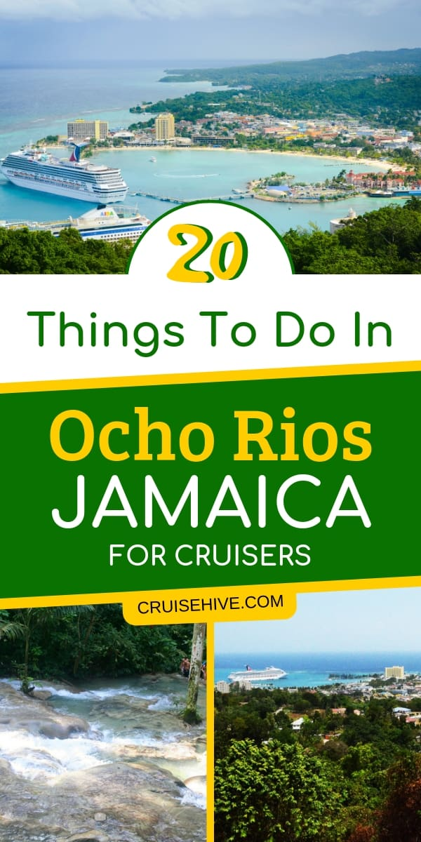 Here's what to do in Ocho Rios, Jamaica for cruise ship passengers. The best shore excursions at this popular Caribbean destination.