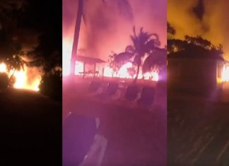 Princess Cays Fire