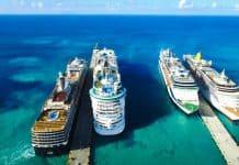 St. Maarten Cruise Ships in Port