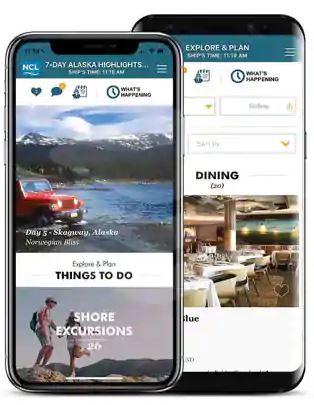 Norwegian Cruise Line App