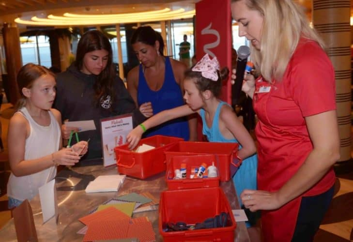 Carnival Cruise Line Arts and Crafts
