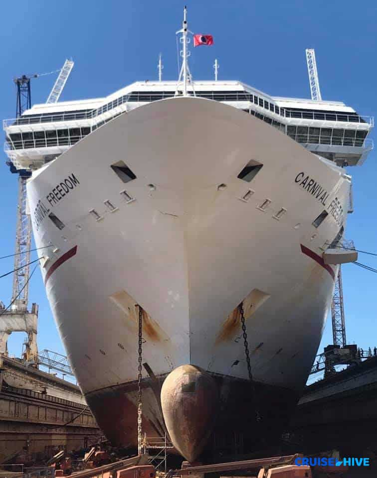 Carnival Cruise Line Upgrading Third Cruise Ship Of The Year