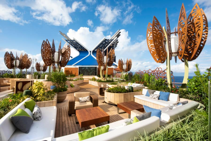 Celebrity Edge Rooftop Garden
