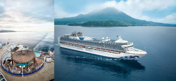 Princess Cruise Ship Completes 14-Day Dry Dock