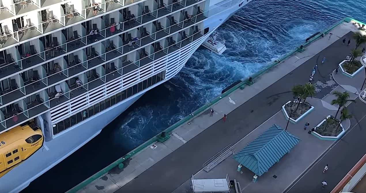 New Video Goes Viral After Couple Misses Cruise Ship