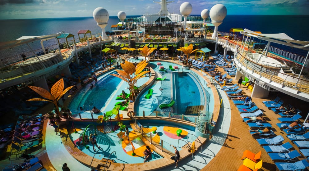 Navigator of the Seas Completes Dry Dock