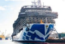 Sky Princess Under Construction