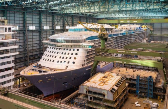 Spectrum of the Seas at Meyer Werft Shipyard