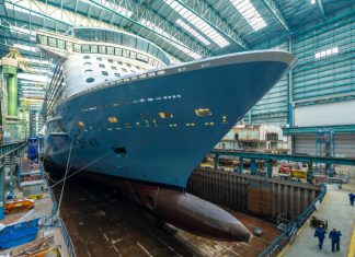 Spectrum of the Seas at Meyer Werft Shipyard