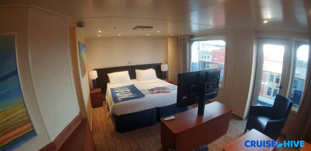 balcony room carnival cruise First Look At Carnival Sunrise Refurbished Cabins