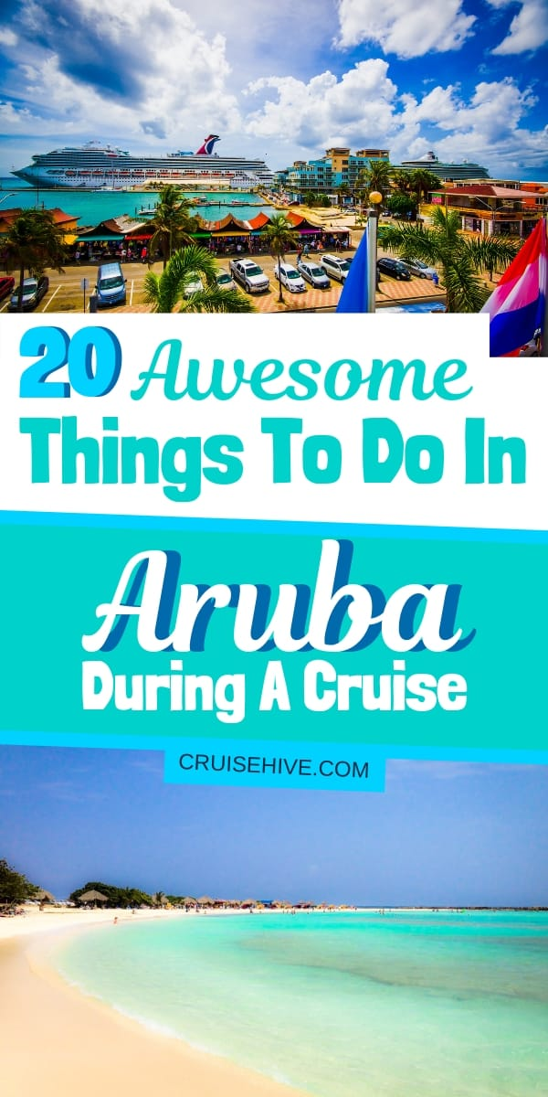 Here are things to do in Aruba for those who are visiting while on a cruise vacation. Covering awesome shore excursions, travel tips, and even those stunning beaches!