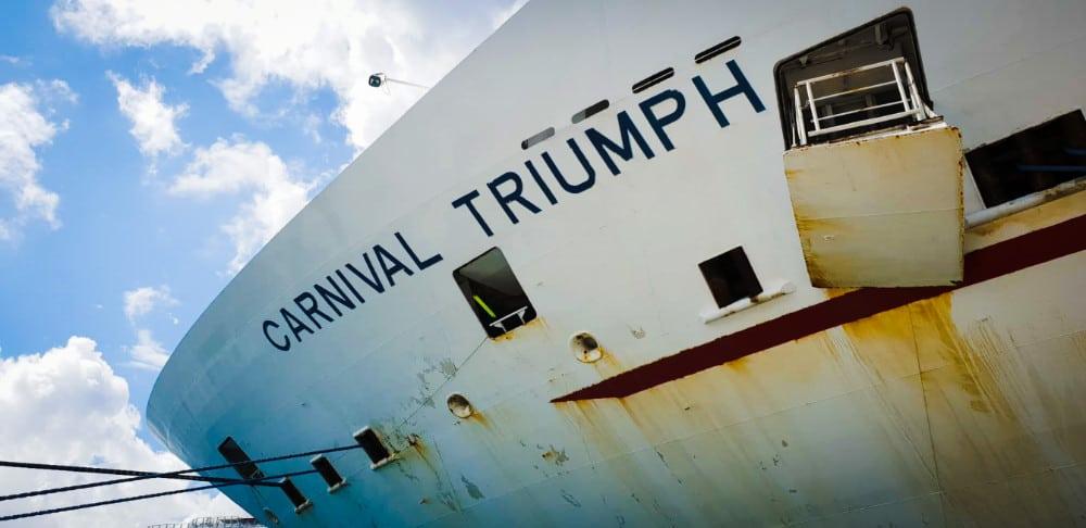 Carnival Triumph Bow
