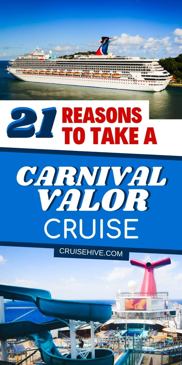 Here are reasons to go on a Carnival Valor cruise vacation. All the things to do on the Carnival Cruise Line operated ship for the entire family. Plenty of tips and secrets to make sure you have the best experience.