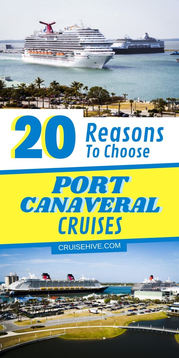 We've come up with all these reasons to choose Port Canaveral cruise out of Florida. Covering travel transportation details and things to do.