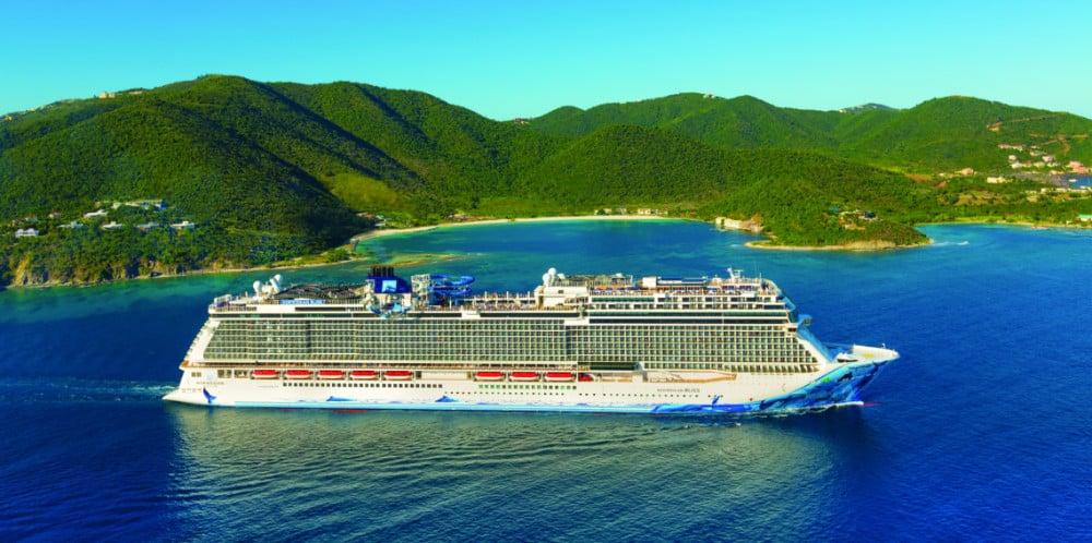 NCL Bliss in Tortola