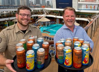 Carnival Canned Beer