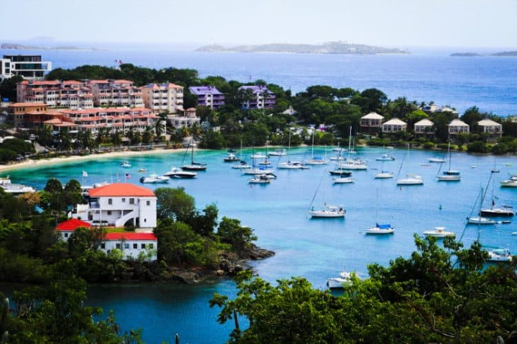 Cruz Bay Town, St. John