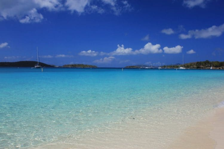 Honeymoon Beach, St. John