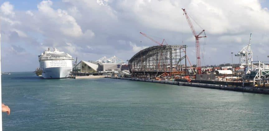 New Norwegian Cruise Line Miami Terminal