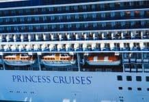 Princess Cruise Ship in Port