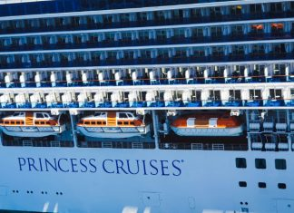 Princess Cruise Ship in Port