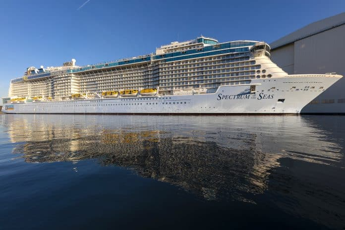 First Look at Spectrum of the Seas