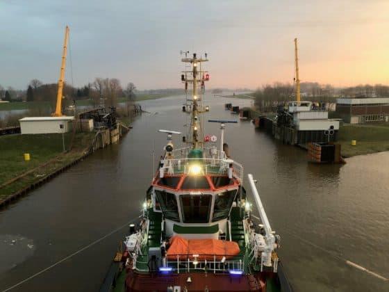 Spectrum of the Seas Begins Conveyance