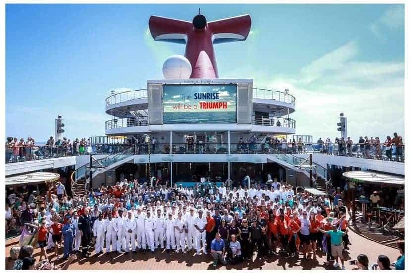 Carnival Triumph Crew Members