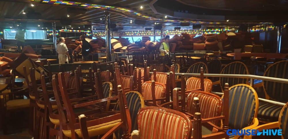Carnival Triumph Lounge