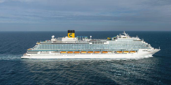 Costa Venezia at Sea