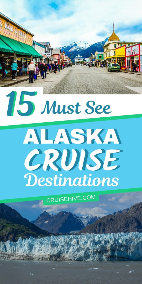 Now these 15 Alaska cruise destinations you really should see. Providing tips on where to visit during a cruise vacation.